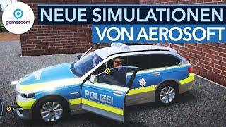 Vom Autobahn-Polizist zum Zombie-Doktor - Neue Simulatoren von Aerosoft | #gamescom2021