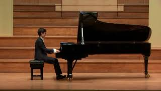 Chopin Prelude in A major, Op.28 No.7 |肖邦A大调前奏曲 作品28 第7号| Bocheng Wang