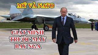 Mỹ và Nato lo ngại trước SU-57 phiên bản không người lái và oanh tạc cơ tàng hình mạnh nhất Thế giới