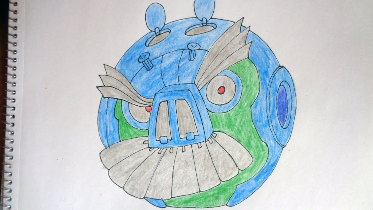 How To Draw Angry Birds Transformers Lockdown YouTube