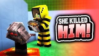 One of Kiingtong's most viewed videos: SHE KILLED HIM! (Minecraft 1.9 Parkour w/ Graser10, HeyImBee & TYBZI)