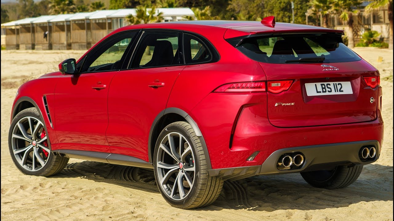 2020 Jaguar F Pace Svr Practical Performance Suv