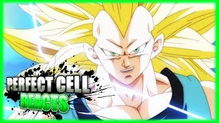 Perfect Cell Reacts To Vegeta Turns Super Saiyan 3 Fan Animation