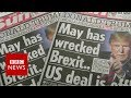 Trump comments 'the last thing Theresa May needed' - BBC News