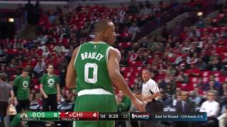 The Celtics Hits 17 Three Pointers In Their Game Three Victory in Chicago | April 21, 2017
