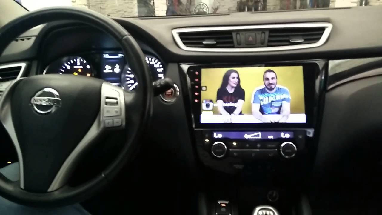 Nissan Qashqai Multimedya Navigasyon 10 2 Inch Youtube
