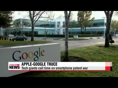 Apple, Google call truce in smartphone patent war