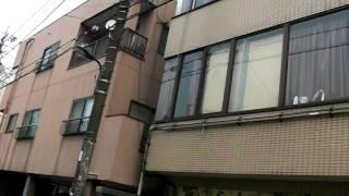 at the Khaosan Hostel Tokyo
