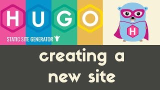 Creating a New Site / Directory Structure | Hugo - Static Site Generator | Tutorial 4