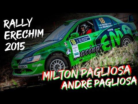 2015 - Rally Erechim - Milton Pagliosa e André Pagliosa