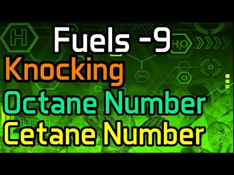 Fuels -9 Knocking, Octane Number, Cetane Number