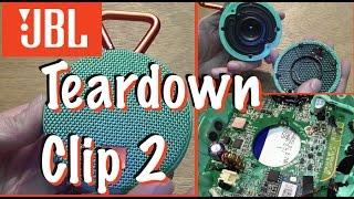 Look inside of JBL Clip2 - Teardown