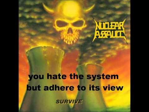 Nuclear Assault - Brainwashed (Lyrics)