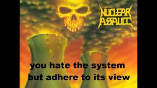 Watch Nuclear Assault Brainwashed video