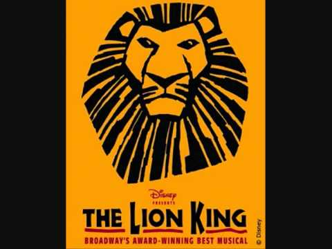 The Lion King on Broadway- They Live in You