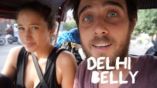 Delhi Belly, India Gate & The Red Fort (Travel Vlog)