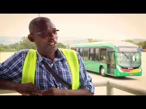 James' Journey from tro-tro to a BRT bus