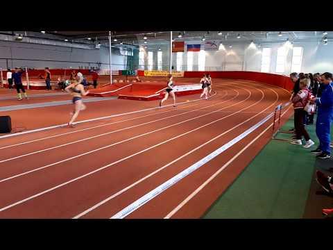 400 метров, юниорки. 3 забег (Екатерина Зорина - 56,52). Первенство России U20