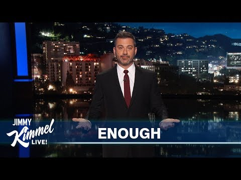 Jimmy Kimmel on Mass Shootings in El Paso & Dayton
