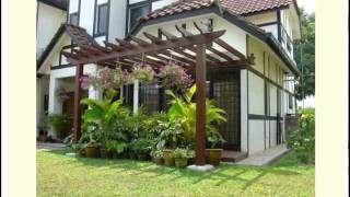 Attached Pergola Designs