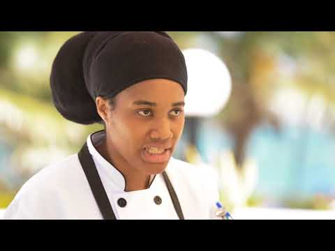 Cooking Demo at Coconut Bay Beach Resort & Spa in St. Lucia