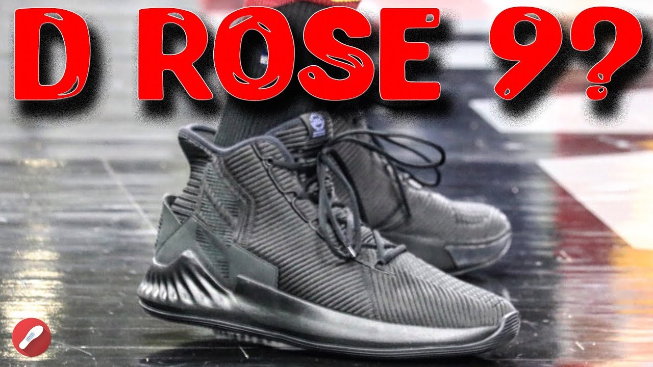 Derrick Rose Seen Playing in the Adidas D Rose 9 ! - YouTube 787d3ca01