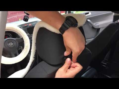 Обзор и установка меховых накидок за 2 минуты