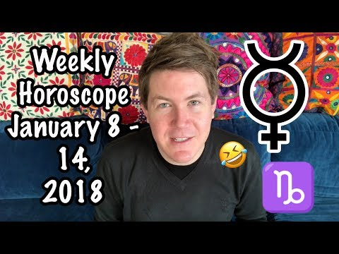 Weekly Horoscope for January 8 - 14, 2018 | Gregory Scott Astrology