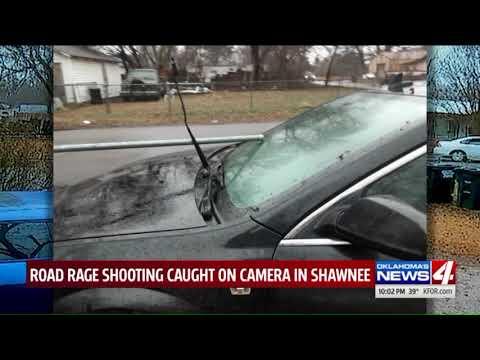 Road Rage Shooting Caught On Camera In Oklahoma
