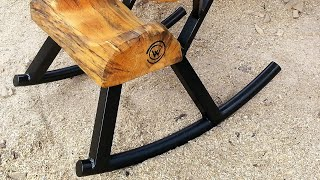 How-to Make a Rocking Chair Rock by Mitchell Dillman