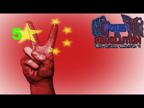 Power and Revolution (Geopolitical Simulator 4) China Part 5 2018 Add-on Just Spending Money