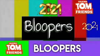 Talking Tom Friends | Zaid | Wishing Merry Christmas and Happy New Year | BLOOPERS