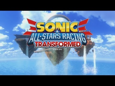 Let's Look at Sonic & All-stars Racing Transformed!