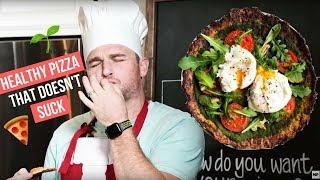How To Make The Best Cauliflower Pizza Crust (GLUTEN FREE)   MIND PUMP