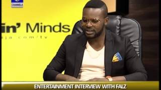 Rubbin Minds Falz Talks About His Style Of Entertainment Prt1
