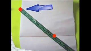 Как построить выкройку для вязания? 2 ВИДЕО. Вязание спицами