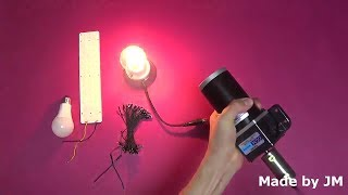DC 220V Generator Experiment(Hand Crank Phone Charger)