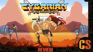 CYBARIAN THE TIME TRAVELING WARRIOR - PS4 REVIEW (Video Game Video Review)