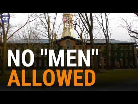 No 'men' allowed at Princeton