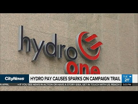Hydro pay raise causes sparks on campaign trail