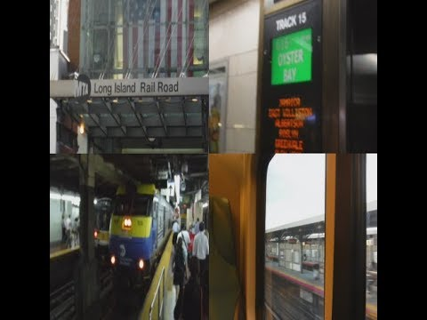 """Riding the """"Long Island Railroad"""" C3 (with DM30AC) from """"Penn Station"""" to """"Jamaica"""""""