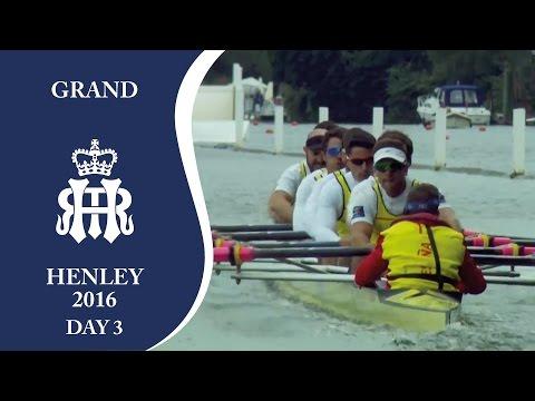 Nautilus v Sevilla & Labradores | Day 3 Henley 2016 | Grand
