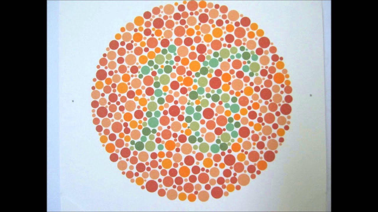 Ishihara\'s Test For Colour Deficiency - 24 Plates Edition - YouTube
