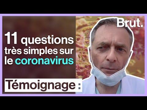 11 questions très simples sur le coronavirus
