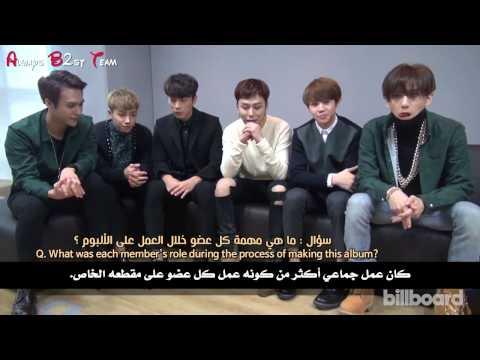 Billboard interview With Beast arabic sub
