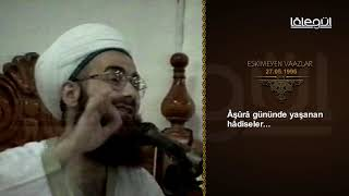 (0.01 MB) 27 Mayıs 1996 Tarihli Eskimeyen Vaazlar (Âşûrâ) - Cübbeli Ahmet Hocaefendi Lâlegül TV Mp3