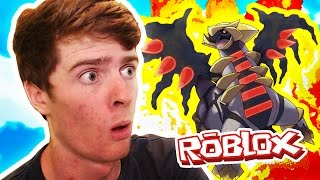 GIRATINA & MOLTRES! / Pokemon Legends / Roblox Adventures
