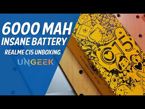 realme C15 Unboxing & First-Look | Power Through the New Normal without Breaking the Bank!