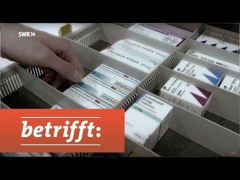 Volksdroge Valium - Medikamentenabhängig auf Rezept? | betrifft