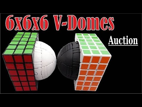 6x6x6 V-DOME Puzzle By Tony Fisher (old Auction)